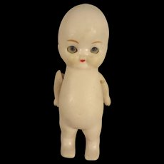 All Bisque with Glass Eyes Articulated Arms