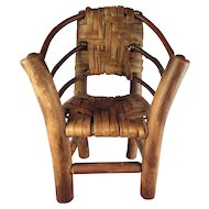 Doll Size Adirondack Chair Miniature