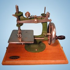 SALE Child's Sewing Machine by Grain of Nottingham England
