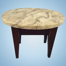 Marble Top Doll House Table