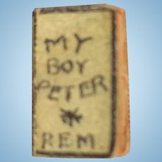 "Teeny Tiny book ""My Boy Peter"""