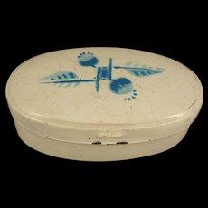 German Tin Painted Pantry Box for German Kitchen