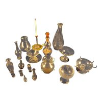 Wonderful Group of Miniature Glass for Doll House or Doll Display