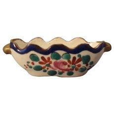 French Miniature Porcelain Bowl
