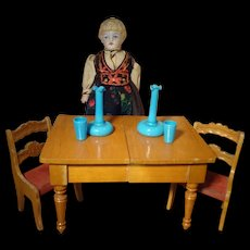 Schneegas Doll House Table and Chairs