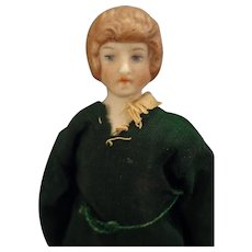 """SALE  5"""" Doll House Lady with Painted Features"""