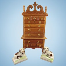 SALE  Doll House Highboy from Germany