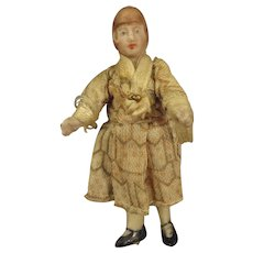 SALE  Tiny All Bisque House Maid