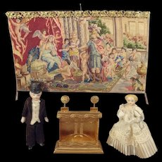 Lovely Petit Point Tapestry for Doll House