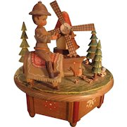Swiss Music Box by Anri playing The Impossible Dream