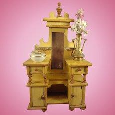 SALE  Doll House Dresser in Outstanding Detail