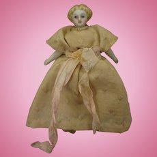 Tiny Blonde Hair China Doll