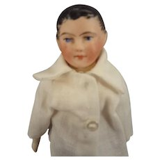 SALE  French Bisque Doll as Young Man