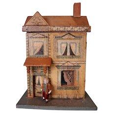 Wonderful Petite Bliss Doll House Furnished