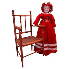 Lovely Faux Bamboo Doll's Chair