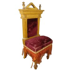 German Doll House Chair