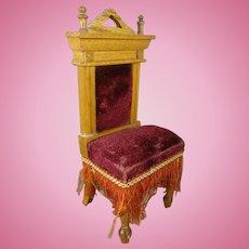 German Doll House Chair