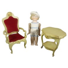 Doll House Table and Chair