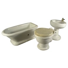 Porcelain Doll House Bath Fixtures