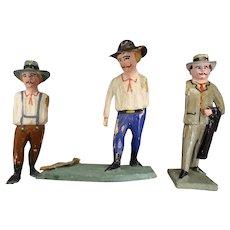 Set of Three Erskibirge Figures