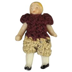 Carl Horn All Bisque Miniature Doll