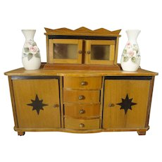 Art Deco Doll House Buffet