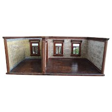 SALE Antique German Double Room Box for French Fashions