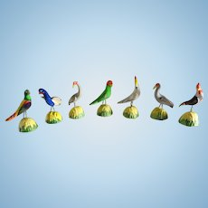 Wonderful Group of Miniature and Colorful Birds