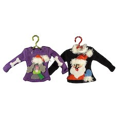 Pair of Decorative Doll House Sweaters
