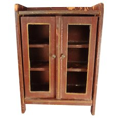 Gottschalk Red Stain Bookcase for Doll House