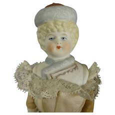 """8"""" Bonnet Head Doll with Molded Shoulder Plate"""