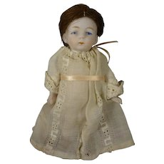 "4 1/4"" All Bisque Chunky  Doll"