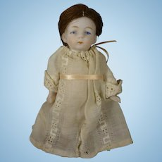 """4 1/4"""" All Bisque Chunky  Doll"""