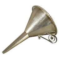 Miniature Sterling Funnel
