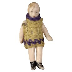 Miniature All Bisque Carl Horn Doll