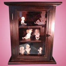 Beautiful Wood and Glass Showcase Cabinet