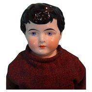 """SALE Wonderful 16"""" China Head Lad"""