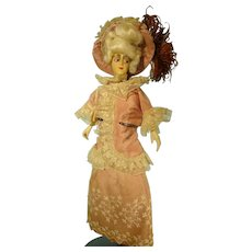 "10""  Flapper Type Doll"