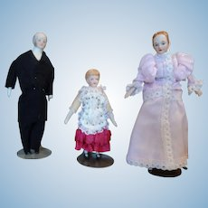 Doll House Family Father Mother Child
