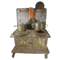 Tin Plate Stove Pots and Accessories