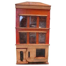 Fantastic Silber and Fleming Box Back Doll House