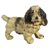 Cast Iron Spaniel Dog