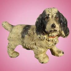 Cast Iron Spaniel Dog