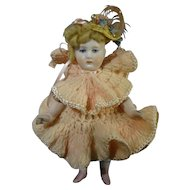 "6"" Chunky All Bisque Doll"