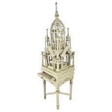 Fancy Doll House Birdcage on Stand