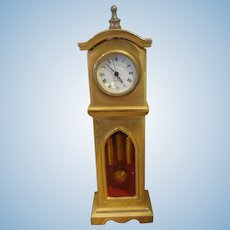 "Miniature 4 1/2"" Tall Case Clock"