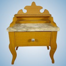 Schneegas Marble Top Wash Stand