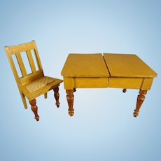 Schneegas Expanding Table and Chair