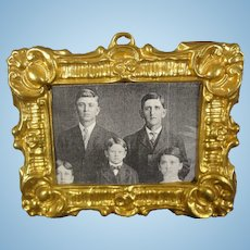 Ormolu Framed Picture for Doll House