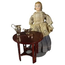 """7"""" Bisque Doll House Doll"""